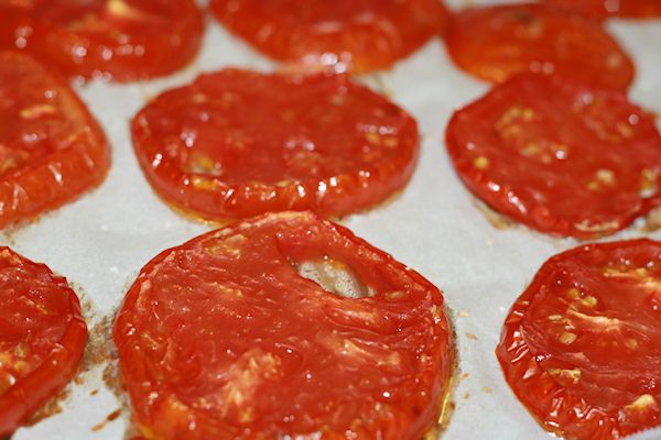 Slow roasted tomatoes for the freezer. | FOOD | Pinterest
