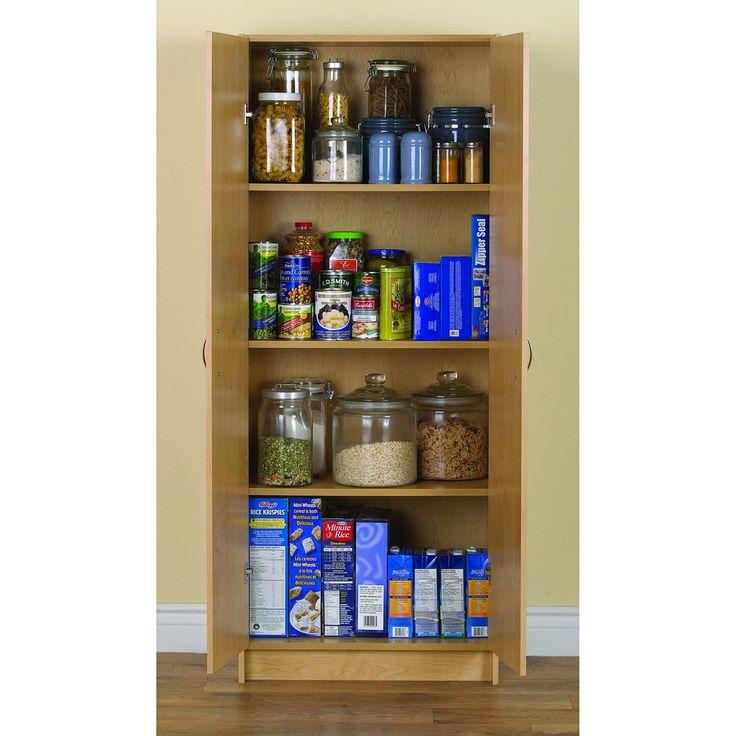 Akadahome 60 Inch Birch Storage Cabinet Shopping The Best Deals On Kitchen