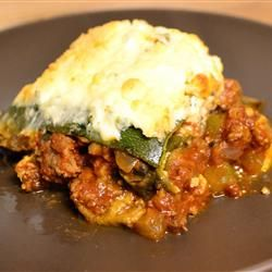No-Noodle Zucchini Lasagna Allrecipes.com Looking for a low-carb ...