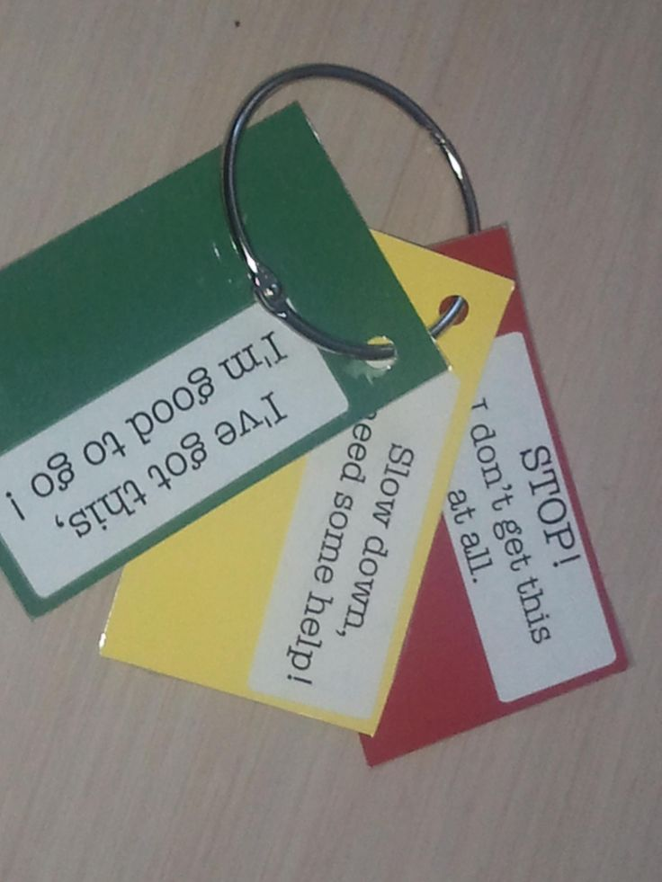 I like this for self assessment and formative assessments. The cards always got everywhere!