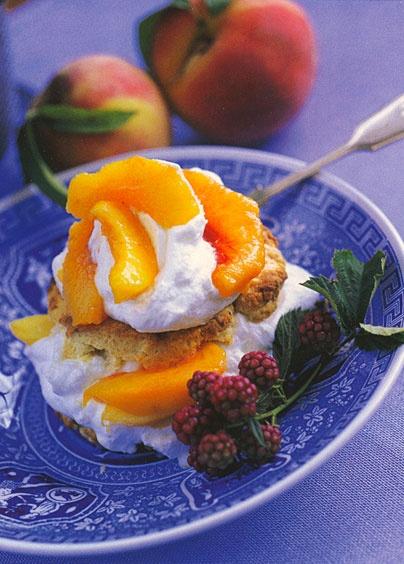peach shortcake | Summer Desserts | Pinterest