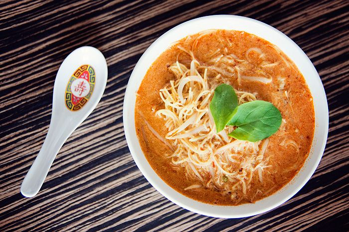 Chicken Laksa Recipe — Dishmaps