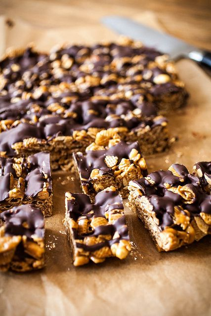 Good Morning Sunshine Bars from Baked Elements. Described in the book ...