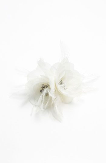 Nina 'Elle' Flower Hair Clip | Nordstrom