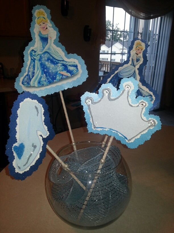 Cinderella Centerpiece Quince Sweet 16