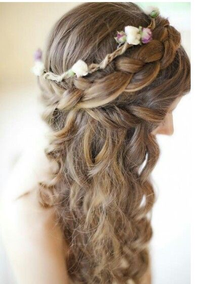 Rustic wedding hair | Hairstyles and makeup | Pinterest