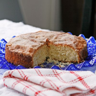 Cinnamon-Sugar Coffee Cake, A Vintage Recipe