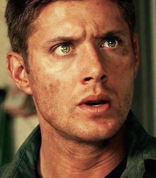 His eyes...
