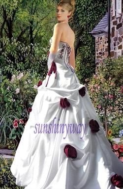 White and burgundy wedding dresses wedding bend pinterest