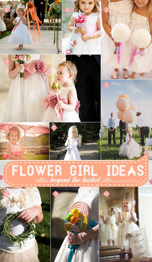 Alternative Flower Girl Basket Ideas : Pin by parties for pennies on wedding receptions