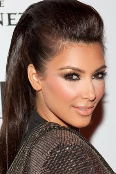 Formal Updo Long Straight Hairstyle This hair do is usually pinned in place and off her face in order to uncover her face. This can be a wonderful hair do for almost any special event as well as fits almost all hair types.