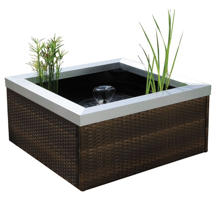 Smartpond patio pond kit at backyard ideas for Fish pond kits