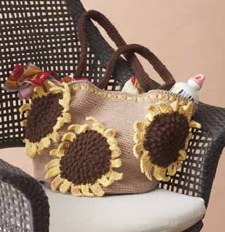 Lily? Sugar ?n Cream? Sunflower Bag Crochet Pinterest