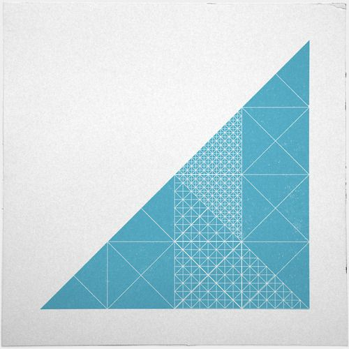 #285 Glass tower – A new minimal geometric composition each day