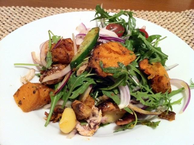Roast Pumpkin & Chicken Salad | Primal Food & Lifestyle | Pinterest