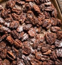 Bourbon Kissed Spicy Pecans | Food & Drink | Pinterest