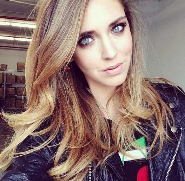 Chiara Ferragni, hair and makeup