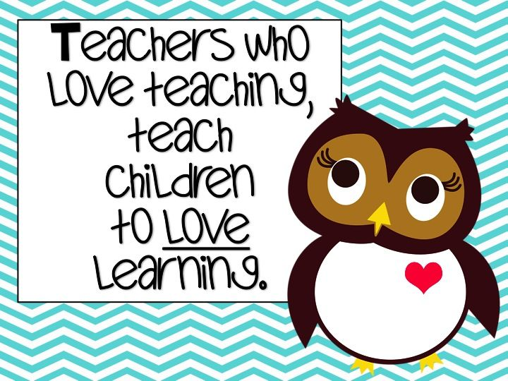 Under the Alphabet Tree: Sweetest Teacher Quote ever...