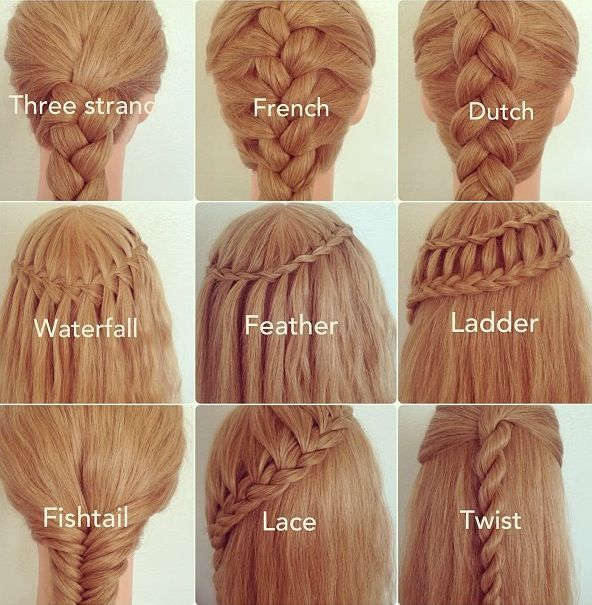 Images Of Different Hair Styles : try different braids hairstyles. Hairstyles & Make-ups Pinterest