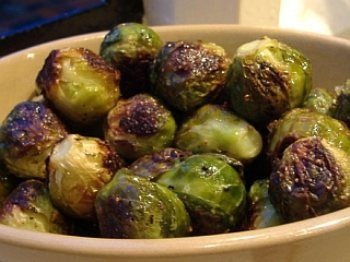 Roasted Brussels Sprouts   BigOven   Cocina   Pinterest