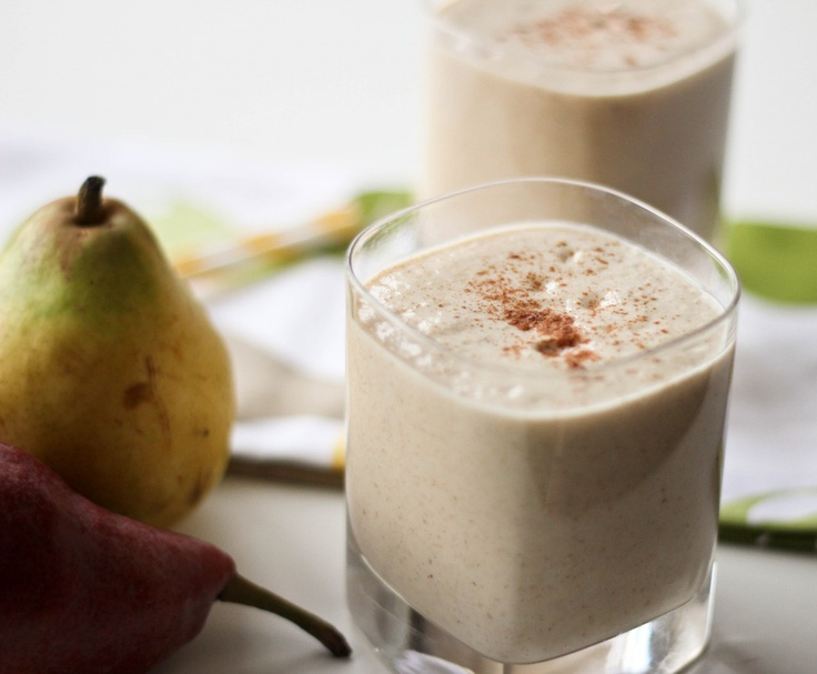 Pear, Oat & Ginger Smoothie | Smoothies | Pinterest
