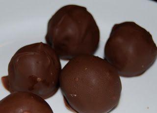 Bourbon and chocolate! Iam in heavern jack daniels pecan truffles