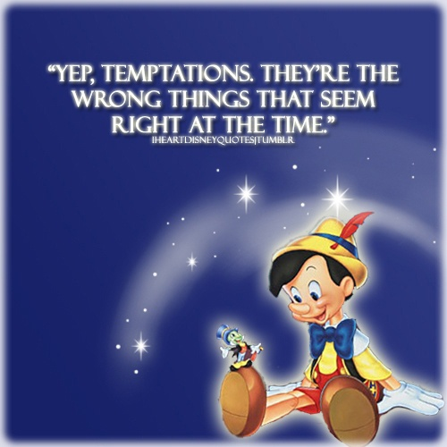 Gallery images and information: Pinocchio Jiminy Cricket Quotes