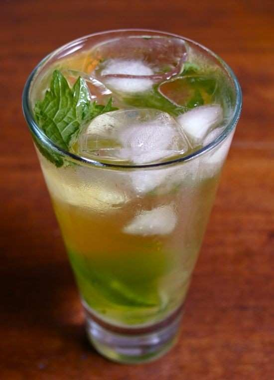 Iced Green Tea Mojito | Food Side | Pinterest