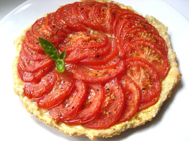 ... readily if you add a little oil check out this upside down tomato tart