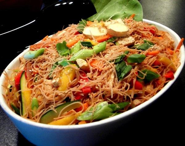 Sesame Ginger Vermicelli Salad | Recipes - Salads | Pinterest