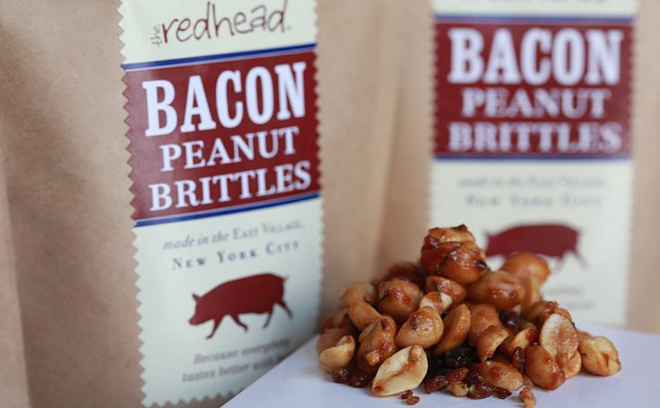 Bacon Peanut Brittle | Wrong. This is so very, very wrong. | Pinterest