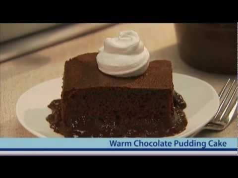 Warm Chocolate Pudding Cake - YouTube | Recipes | Pinterest