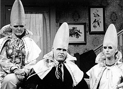 Saturday Night Live: The Coneheads #SNL
