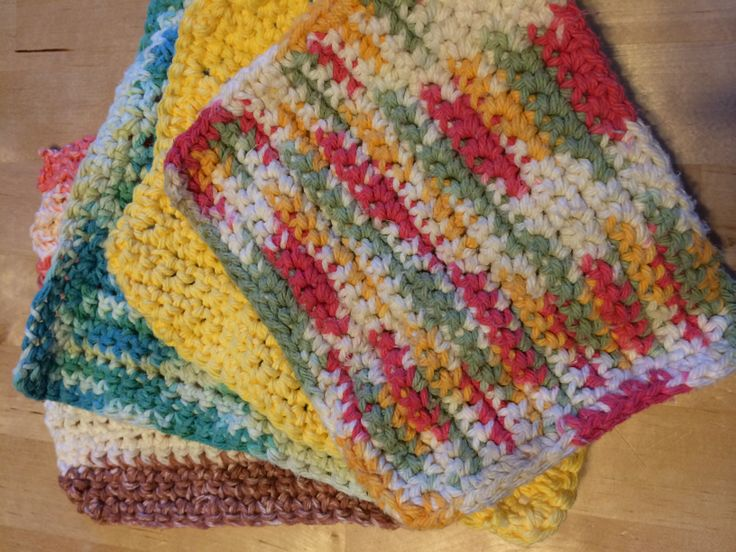 Crocheting Dish Rags : Crocheted Dish Rags Crochet Pinterest