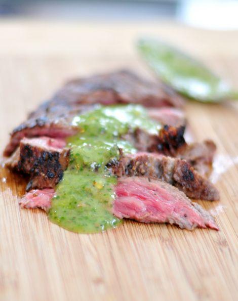 Pan-seared Ribeye Cap with Chimichurri. The ultimate recipe for steak ...