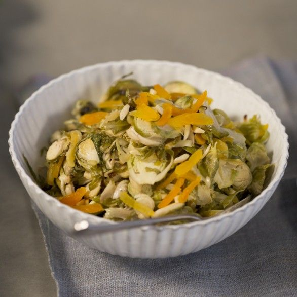 ... Side Dish Recipes: Dijon-Braised Brussels Sprouts - Shape Magazine
