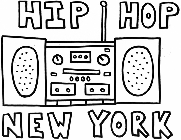 hip hop coloring pages | growing, learning, and having fun | Pinterest