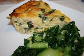 Salmon and Swiss Chard Quiche | Main Dish Recipes | Pinterest