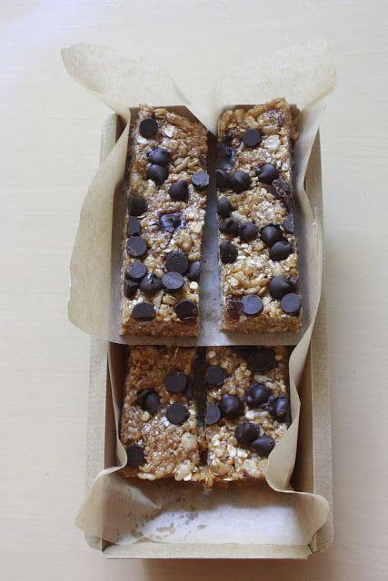No-Bake Biscoff Granola Bars   Desserts   Pinterest