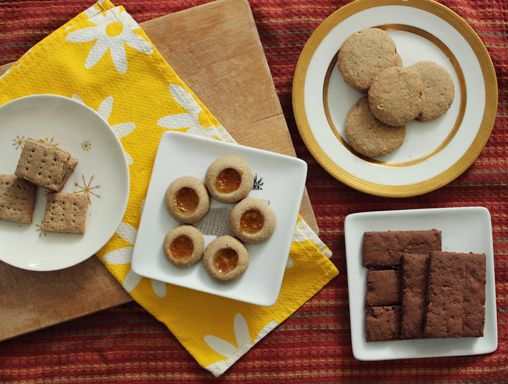 gf vegan shortbreads made with brown rice flour and oat flour ...