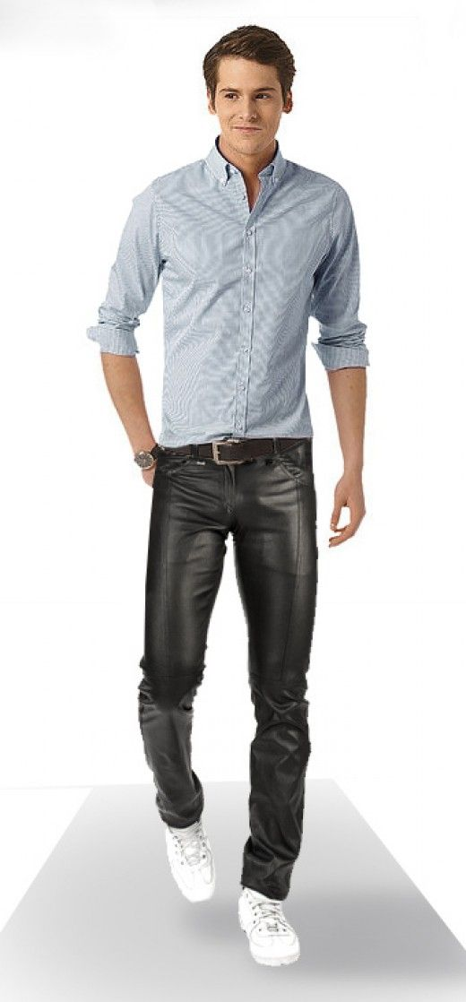 Here is a warning to men who dare, leather pants can make a fool of anyone if worn incorrectly. It is a battle of wills: man vs. pants. They will try to upstage, but if you can prove that you are wearing them and not the other way around, you are a verified a rock star.
