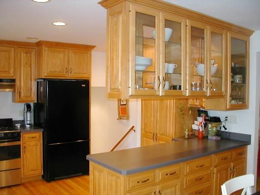 Information about rate my space for Split level kitchen remodel before and after