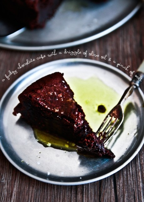 chocolate-olive-oil-cake- | Food - Sweet Treats | Pinterest