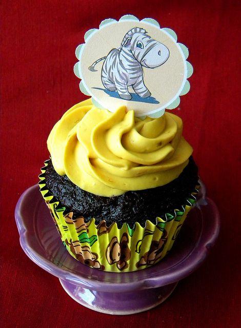 Chocolate Banana Cupcake by kalina813, via Flickr