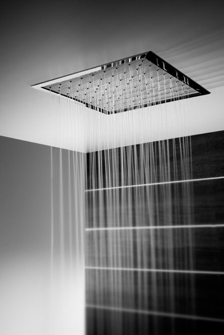 Modern Bath Rain Shower MODERN Baths Pinterest