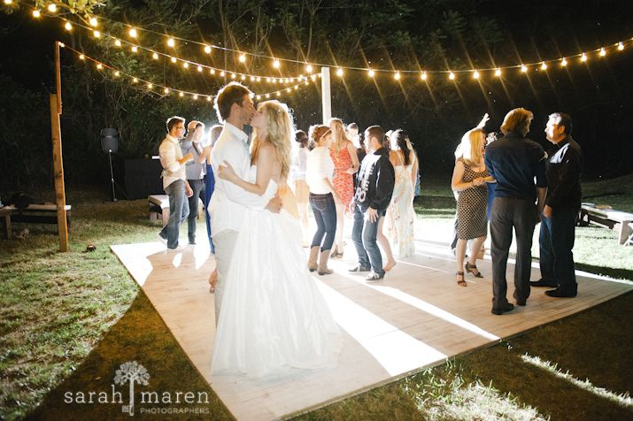 Back yard wedding dance floor 2017 2018 best cars reviews