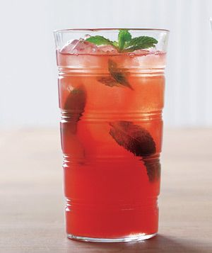 Watermelon mint coolers.  The perfect summer drink.