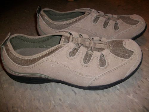 Lands End ~ Womens Shoes ~ Brown ~ Slip ons ~ Size 6 1/2B ~ $6.50