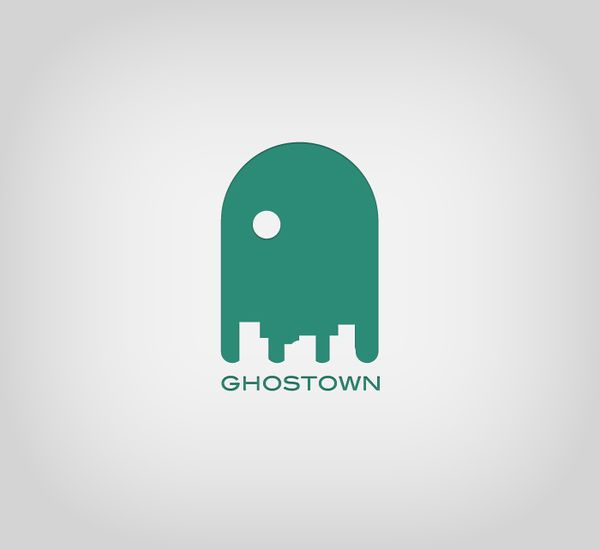 #logo Ghost Town
