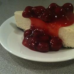 Easy Sour Cream Cheesecake | Desserts | Pinterest